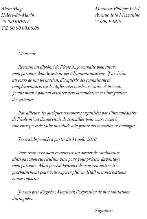 lettre de motivation alternance  u00e9cole de commerce
