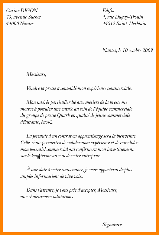 lettre de motivation leroy merlin
