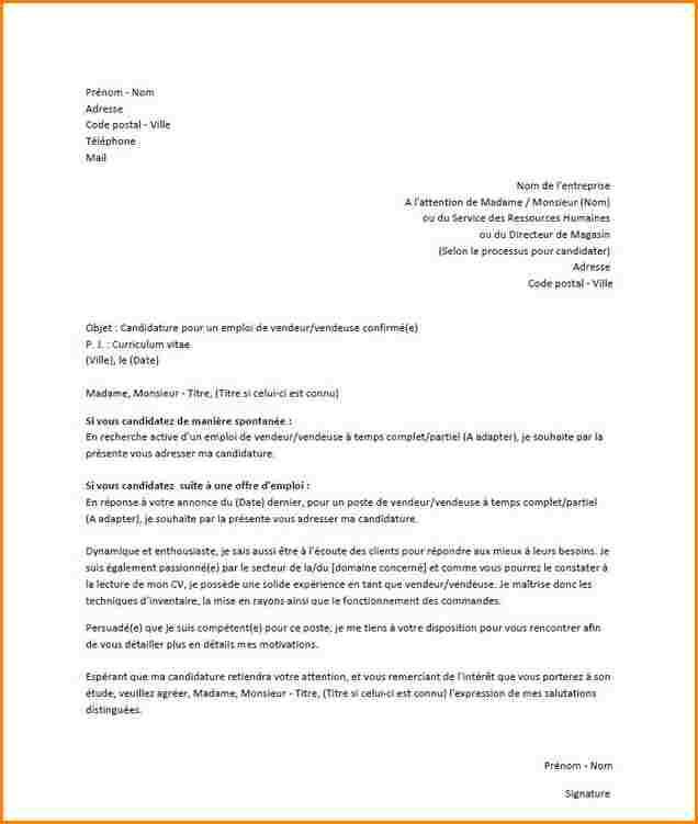 lettre de motivation candidature spontan u00e9e comptable