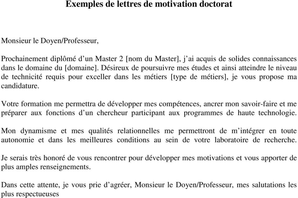 lettre de motivation double licence droit eco
