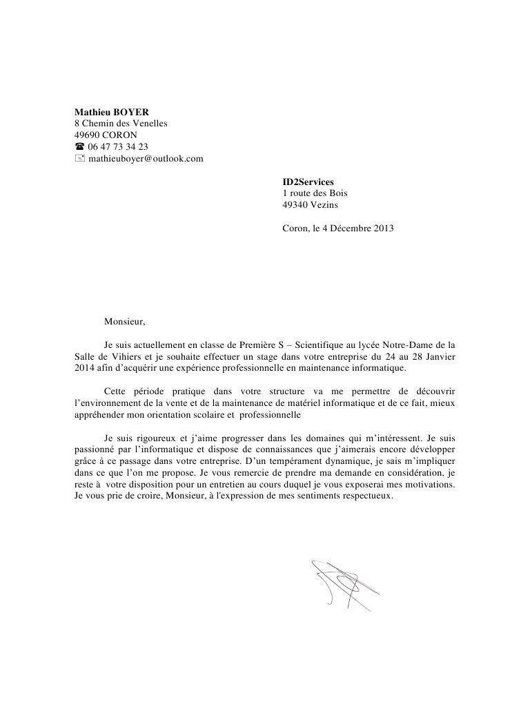 lettre de motivation  u00e9cole priv u00e9e catholique gratuite