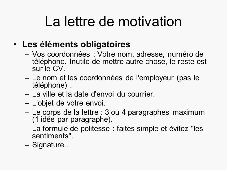Qualités à mettre dans une lettre de motivation - laboite ...