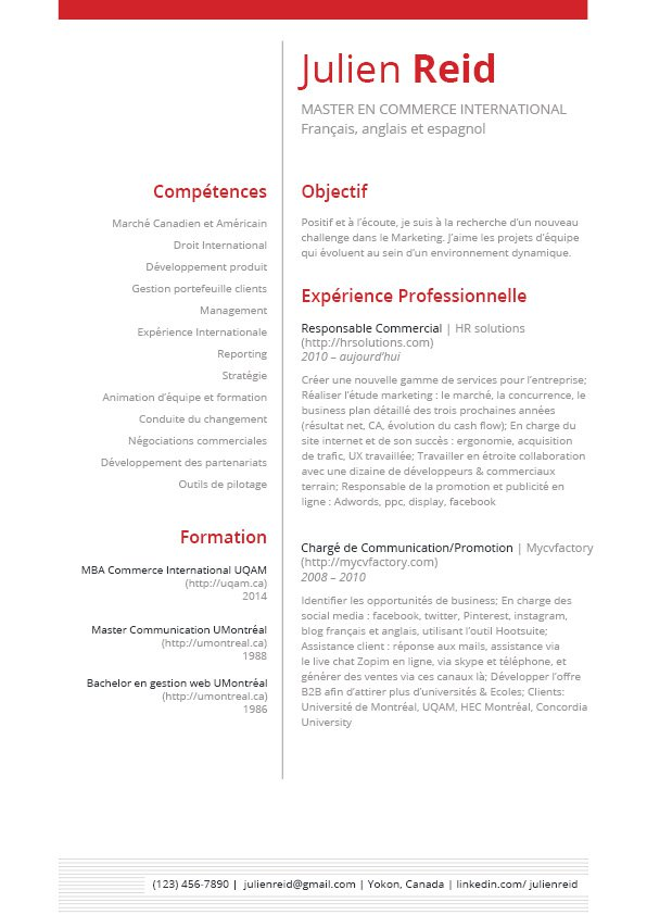 lettre de motivation de 2 pages