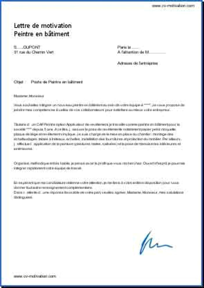 lettre de motivation conducteur de car de tourisme