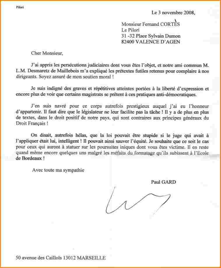 Lettre De Motivation Pour Devenir Gendarme