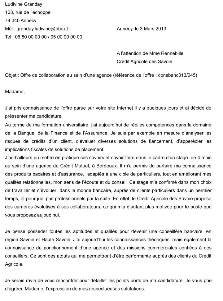 lettre de motivation secretaire comptable candidature
