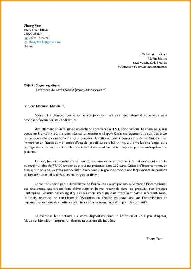 lettre de motivation licence pro banque assurance finance alternance