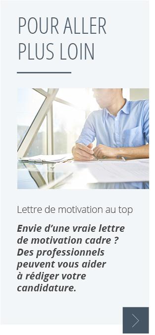 mettre  u00e0 profit lettre de motivation