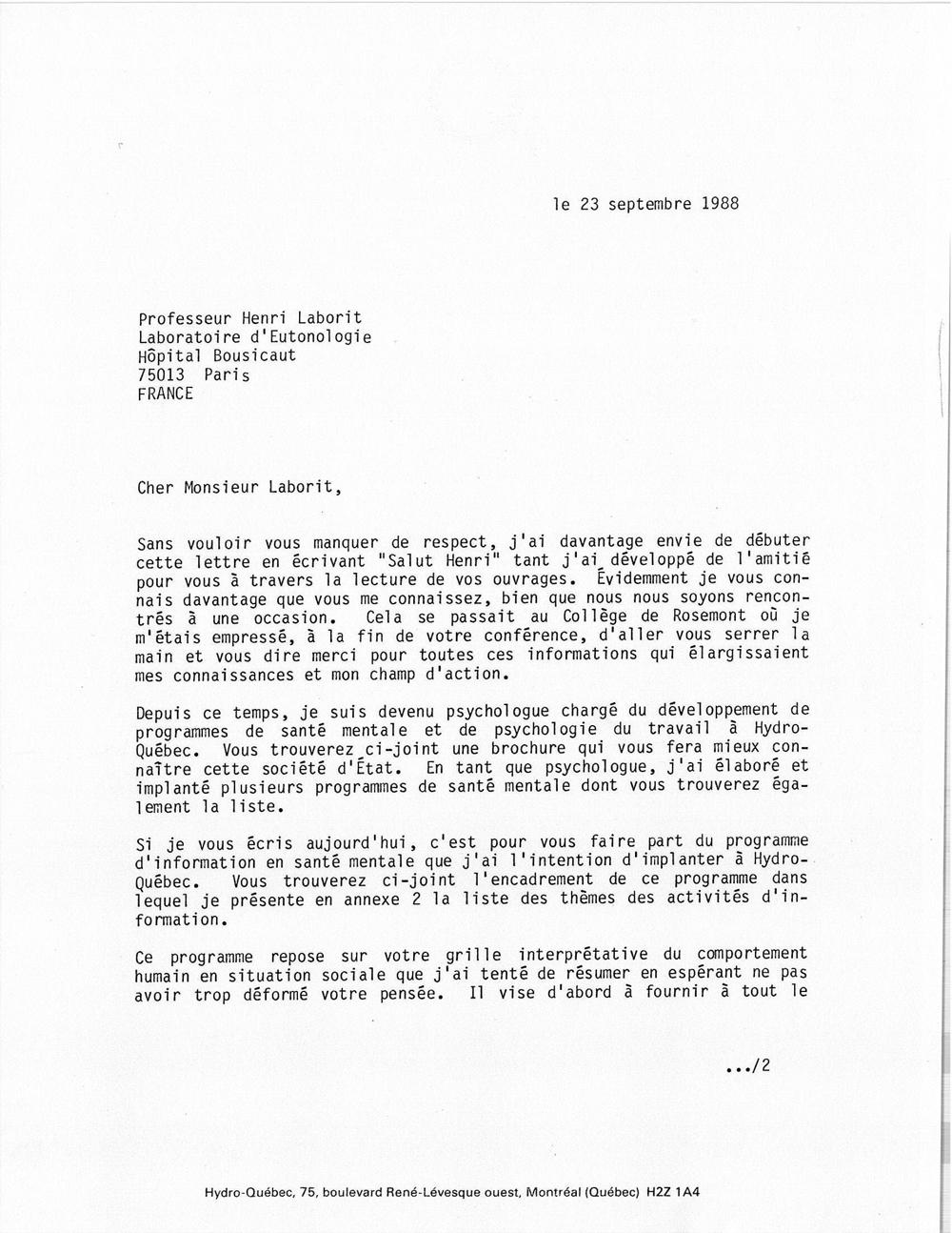 lettre de motivation quebecoise