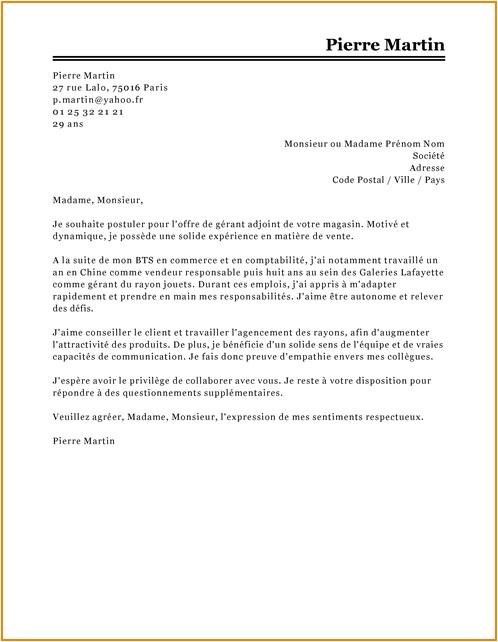 exemple lettre de motivation stage ouvrier ing u00e9nieur