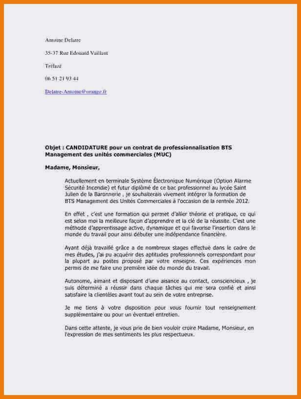 lettre de motivation bts tourisme alternance agence de voyage