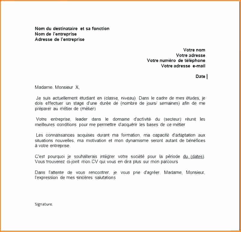 lettre de motivation avec cv joint