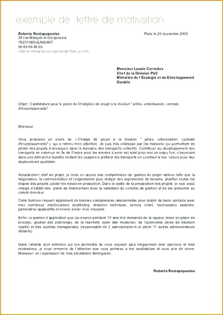 lettre de motivation pour immigration