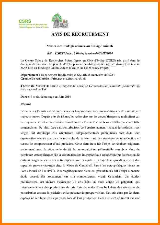 lettre de motivation master droit international