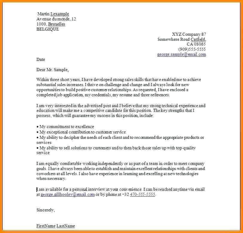lettre de motivation de vendeuse en boulangerie