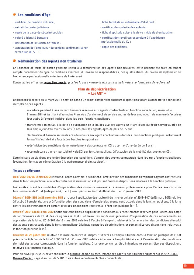 lettre de motivation agent administratif sans diplome