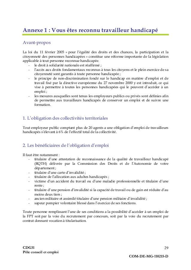 lettre de motivation emploi territorial