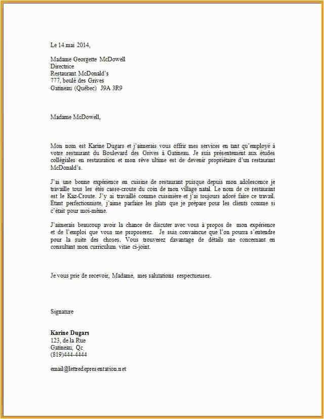 lettre de motivation agent de restauration scolaire