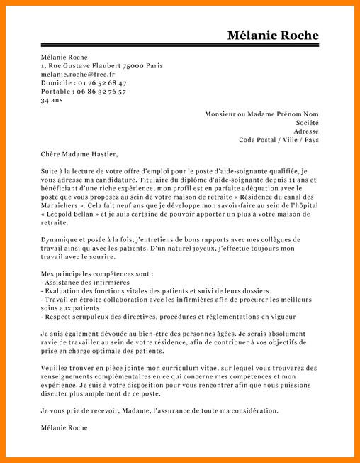 lettre de motivation aide m u00e9nag u00e8re  u00e0 domicile d u00e9butant
