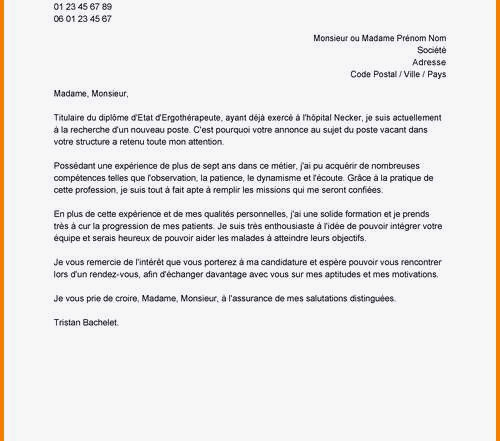 lettre de motivation aide soignante sans diplome et sans experience