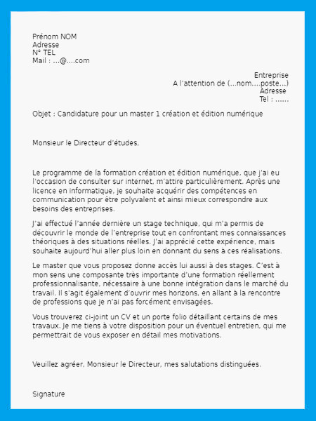lettre de motivation pour assistant dentaire