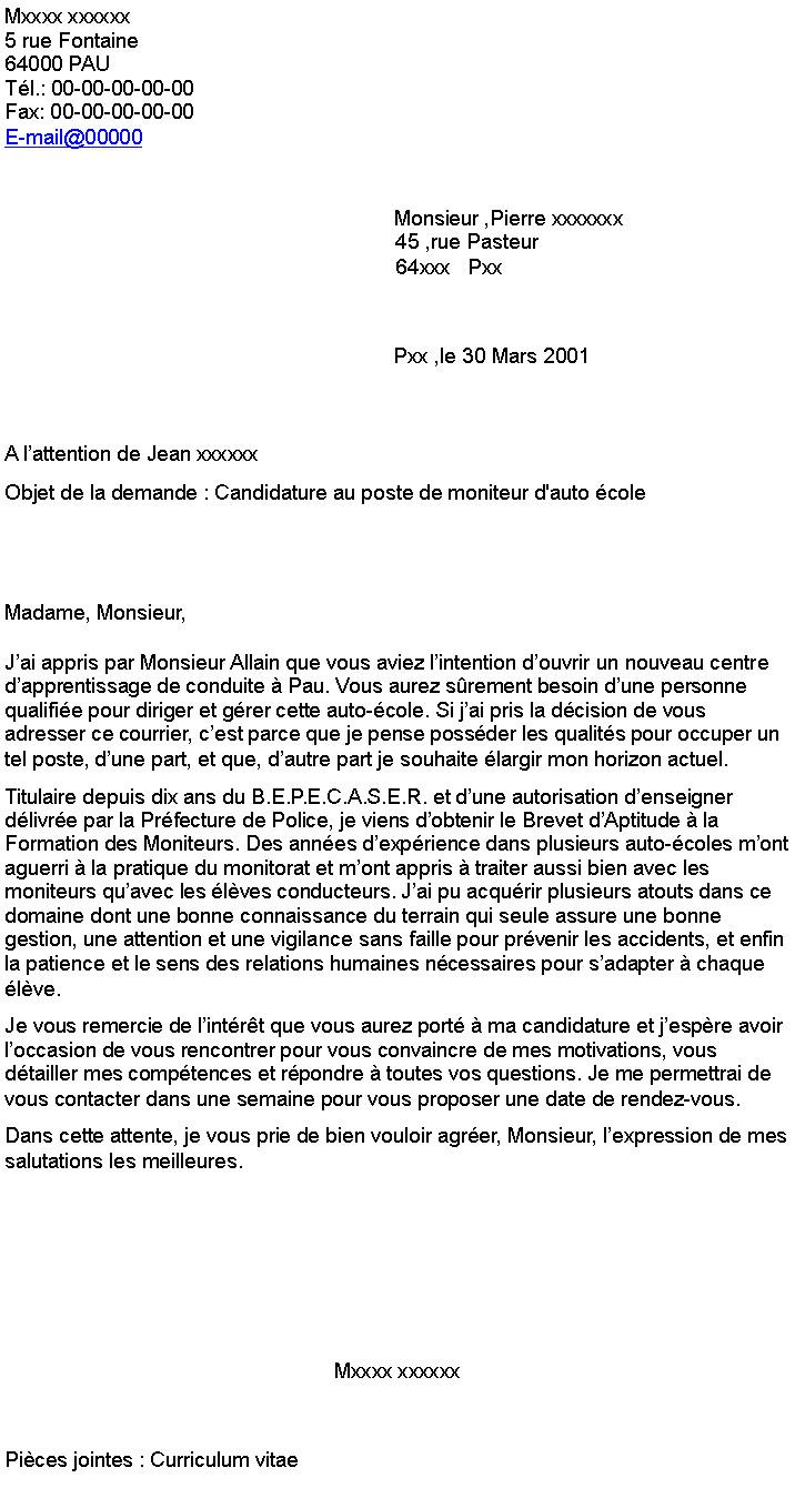 lettre de motivation pour le poste d u0026 39 atsem