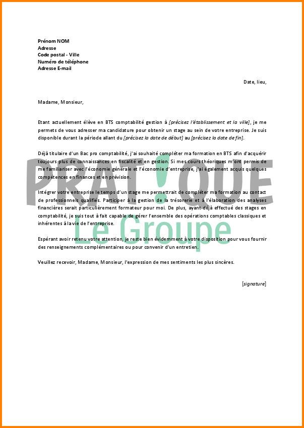 lettre de motivation pour bts comptabilit u00e9 en alternance