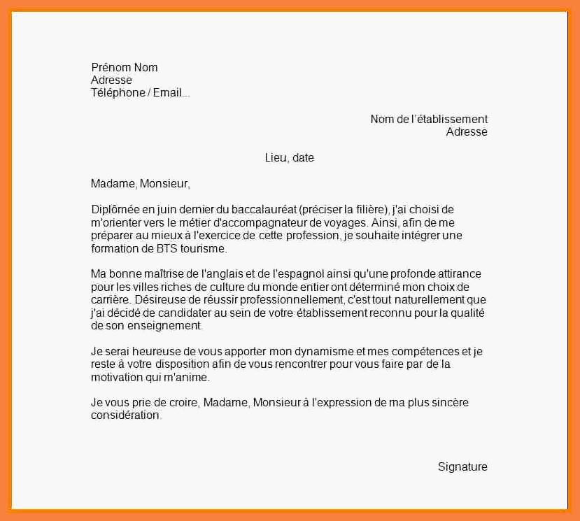 11 Lettre De Motivation Licence Psychologie: Lettre De Motivation Pour Ecole Bts Muc