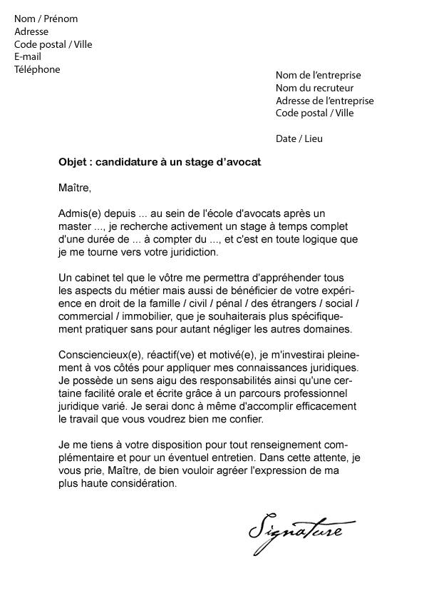 lettre de motivation candidature spontan u00e9e prothesiste