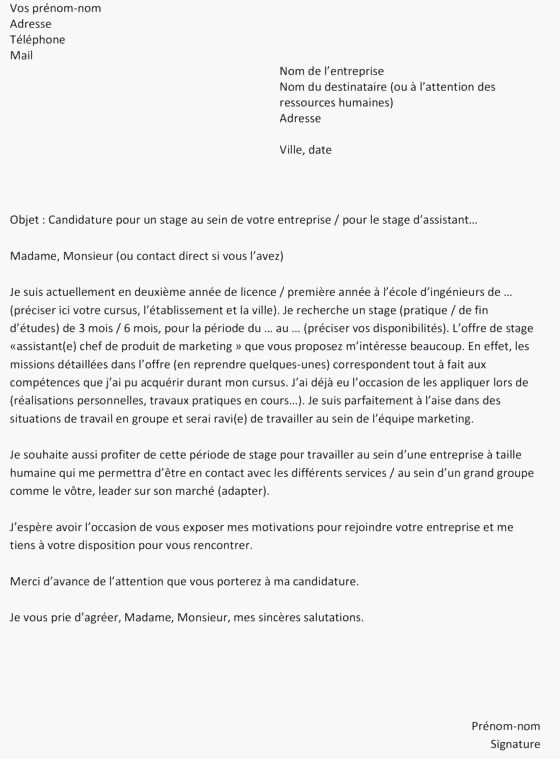 lettre de motivation bts tpl