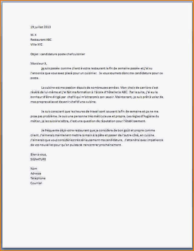lettre de motivation  u00e9quipier polyvalent burger king