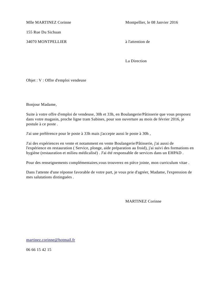lettre de motivation stage cap electricien