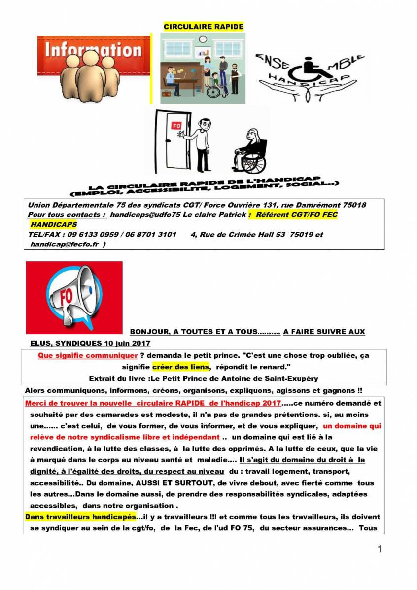 lettre de motivation r u00e9f u00e9rent handicap