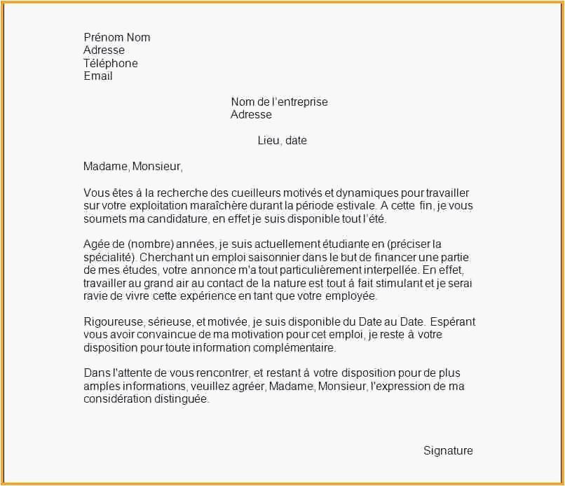 lettre motivation pour demande de formation