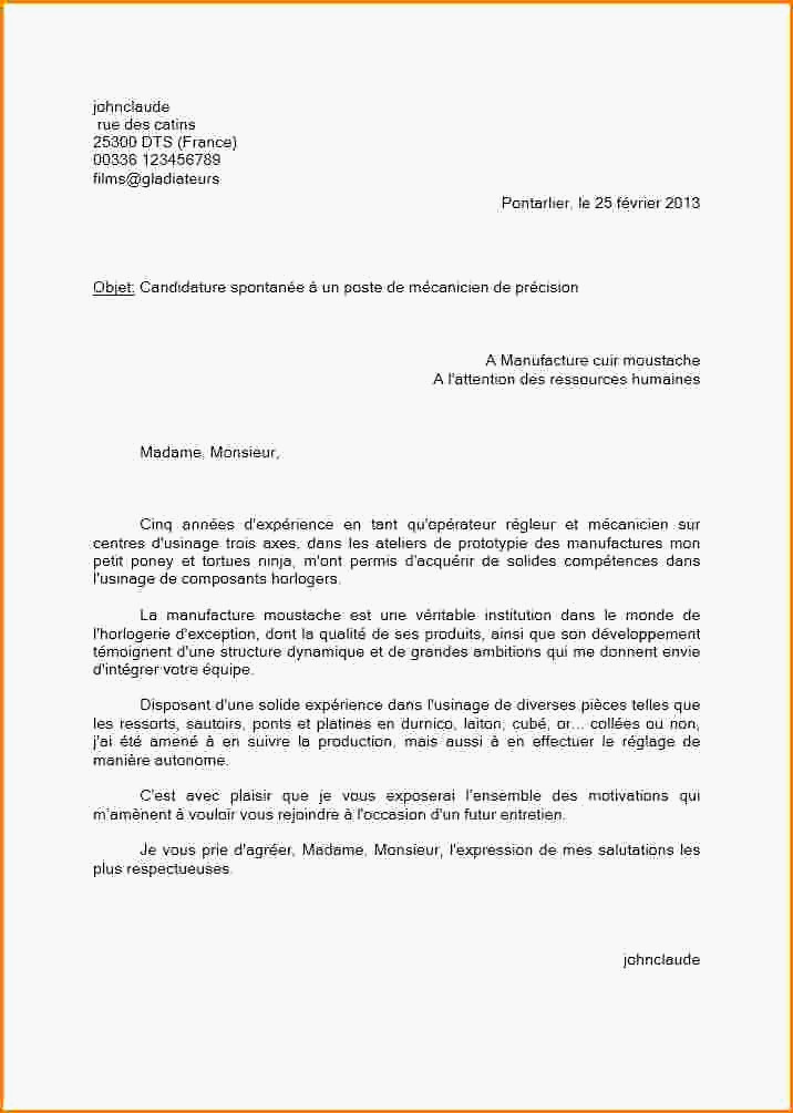 lettre de motivation candidature spontan u00e9e commercial