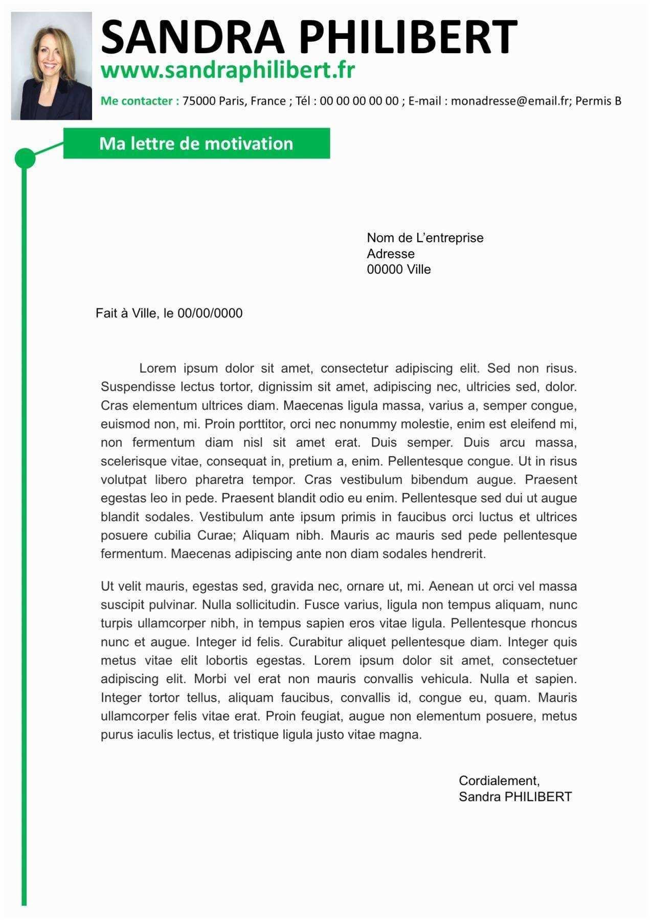 lettre de motivation assistant service social