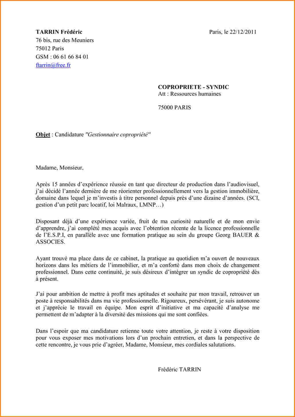 lettre de motivation contrat de professionnalisation bts
