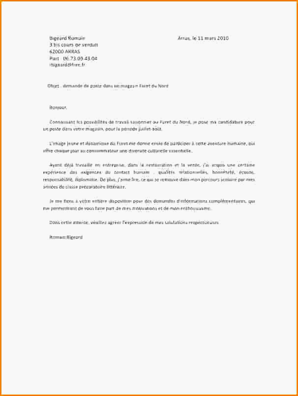 lettre de motivation employ u00e9 polyvalent boulangerie