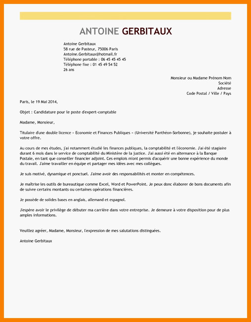 Lettre de motivation en espagnol erasmus - laboite-cv.fr