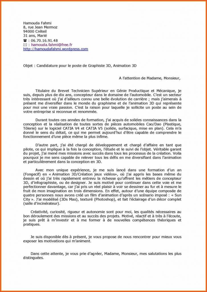 lettre de motivation recrutement assistant familial