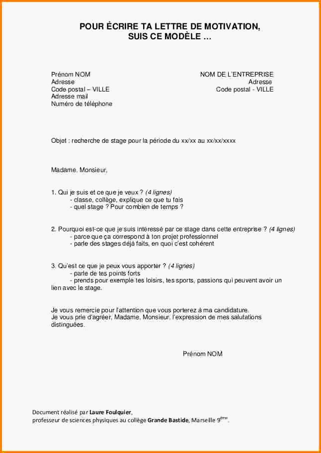 lettre de motivation formation bnssa