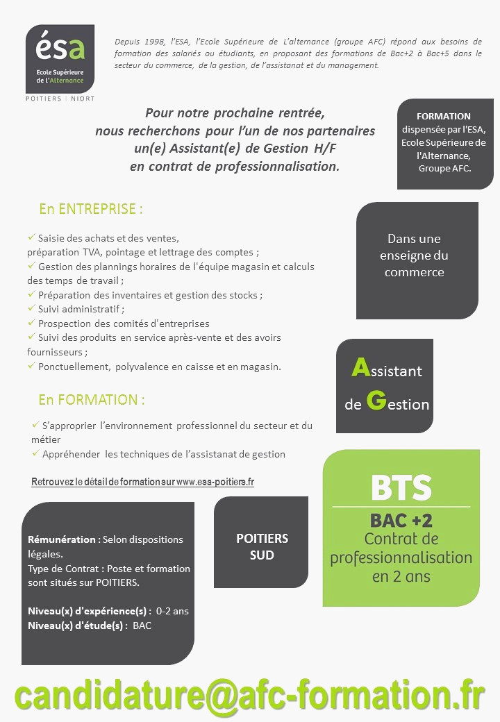 assistant administration des ventes lettre de motivation