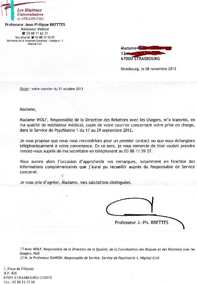 lettre de motivation hopital psychiatrique