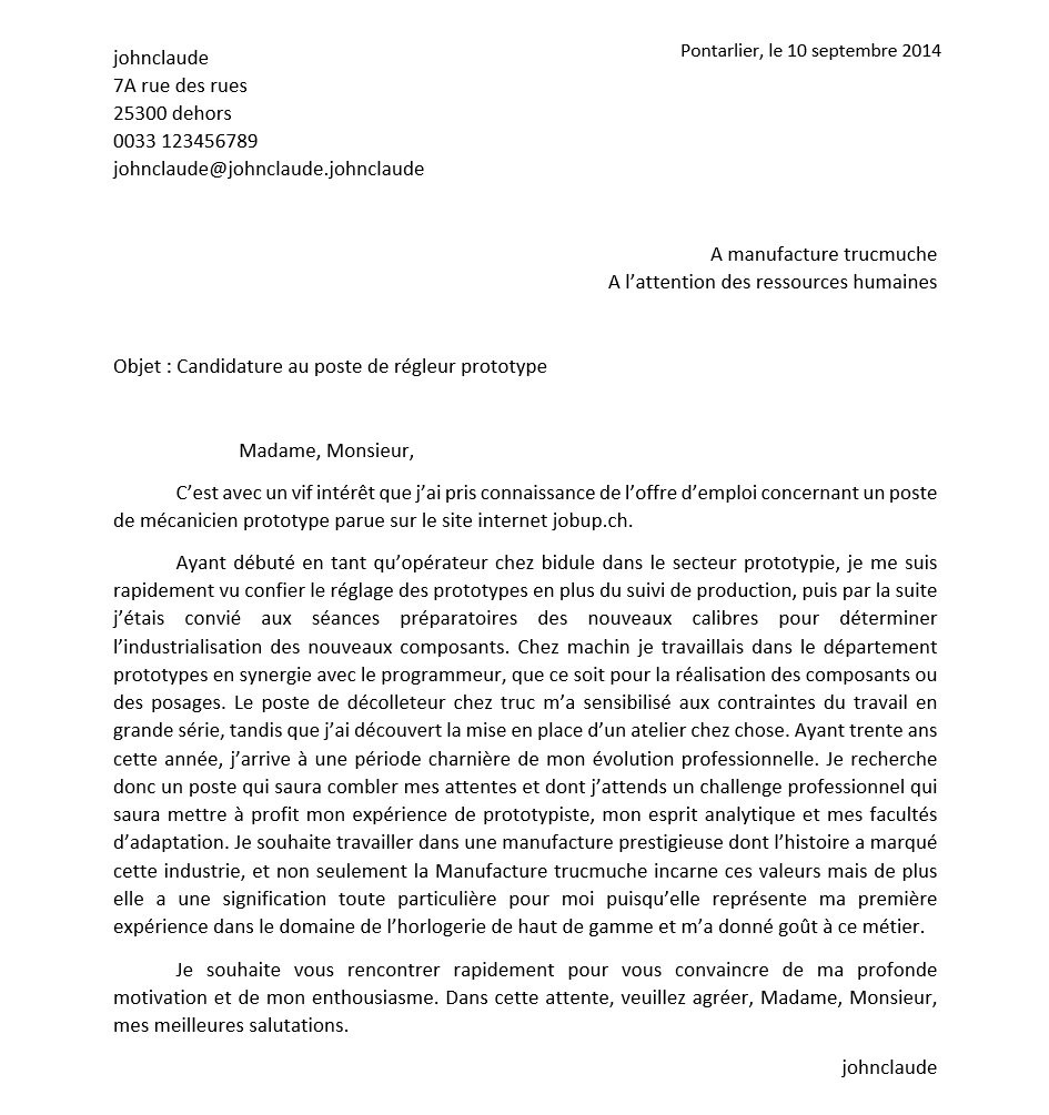 lettre de motivation stage laboratoire pharmaceutique