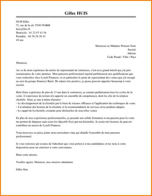 lettre de motivation menage dans les ecoles