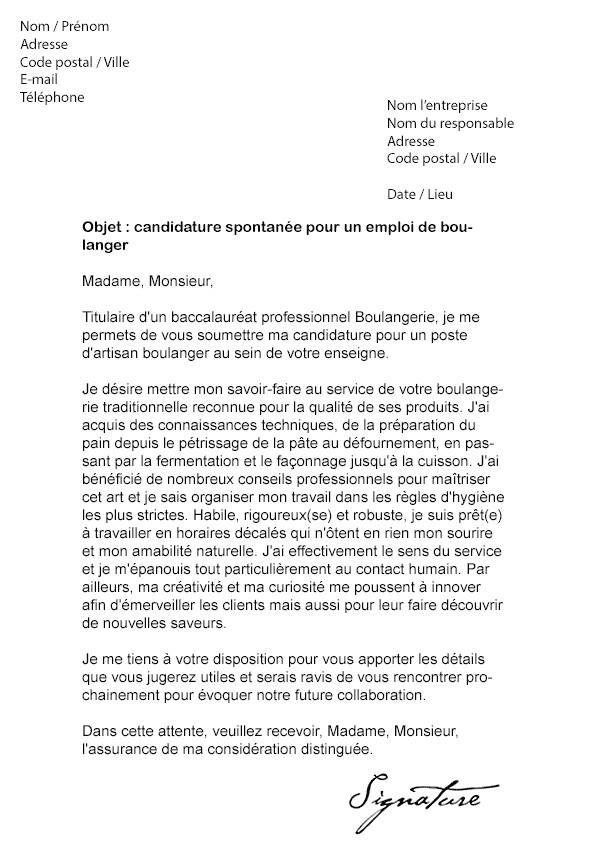 lettre de motivation cap maroquinerie