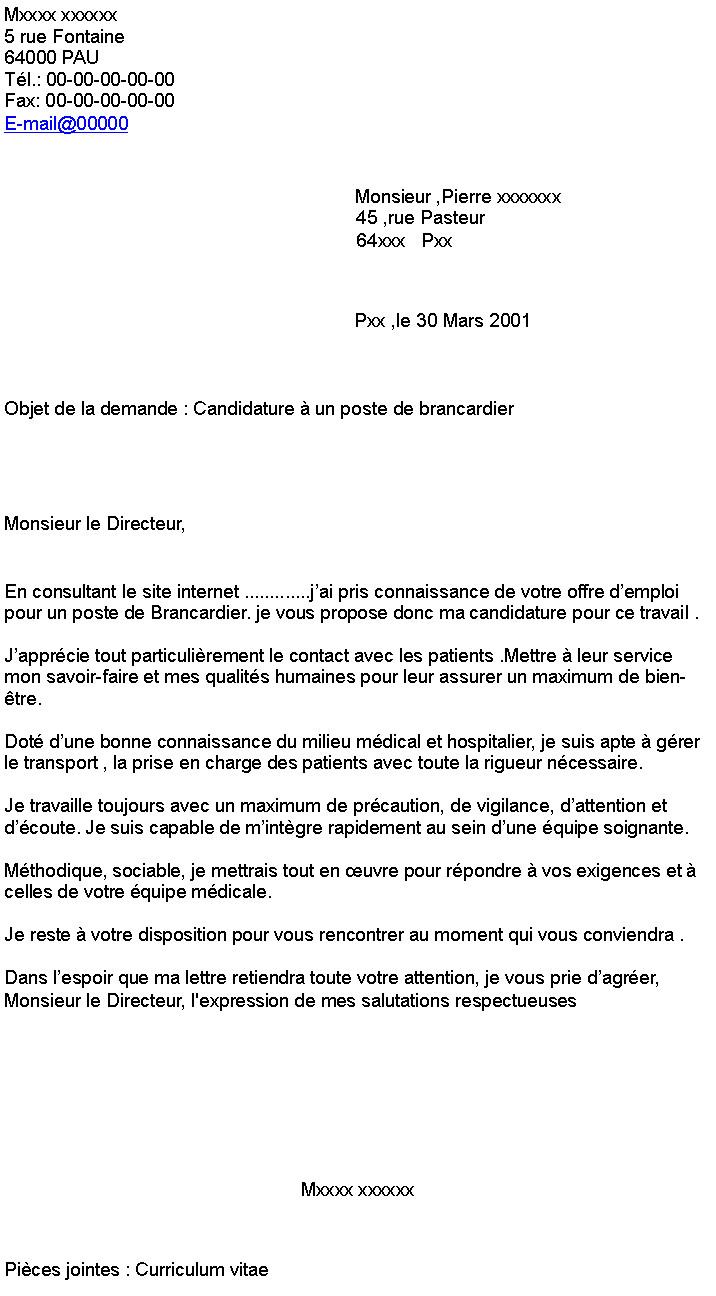 lettre de motivation pour changement de poste aide
