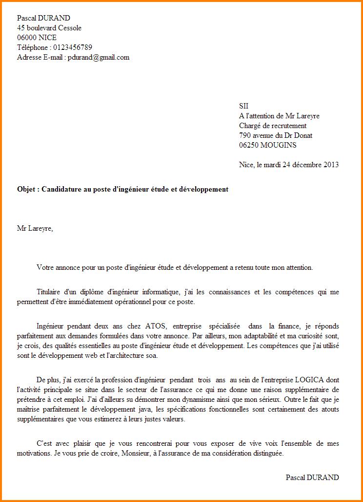 lettre motivation concours gardien de la paix