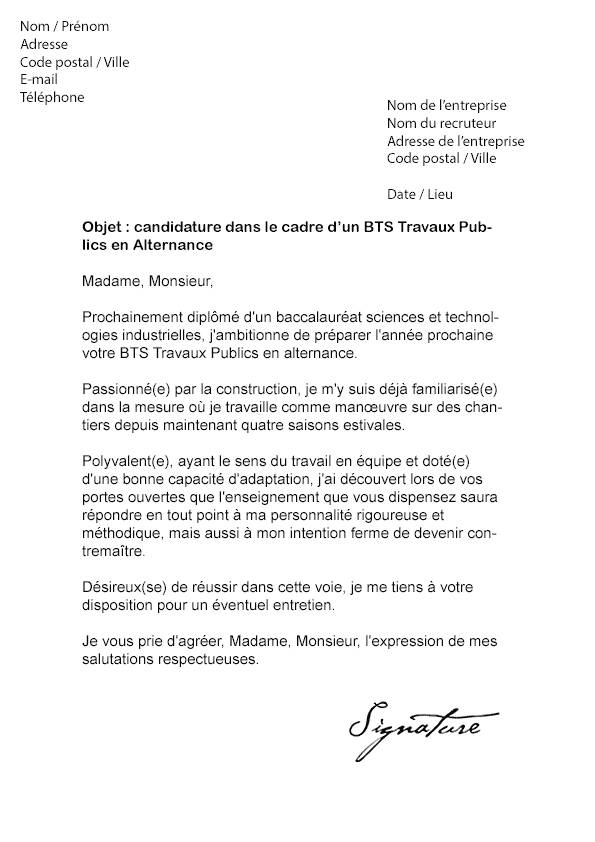 lettre de motivation alternance pharmacie