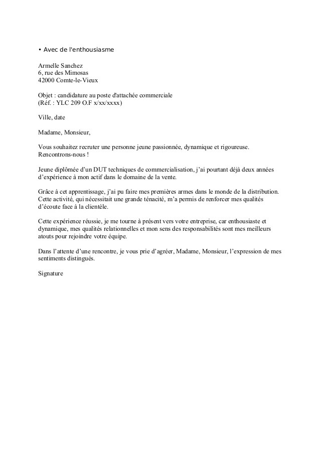 lettre de motivation pour dut carri u00e8re sociale option